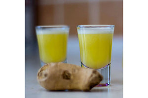 Ginger Shot - Ginger Lemon Apple 30ml Shot in Perth CBD
