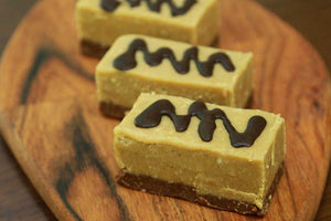 Raw Slices - Tahini Fudge