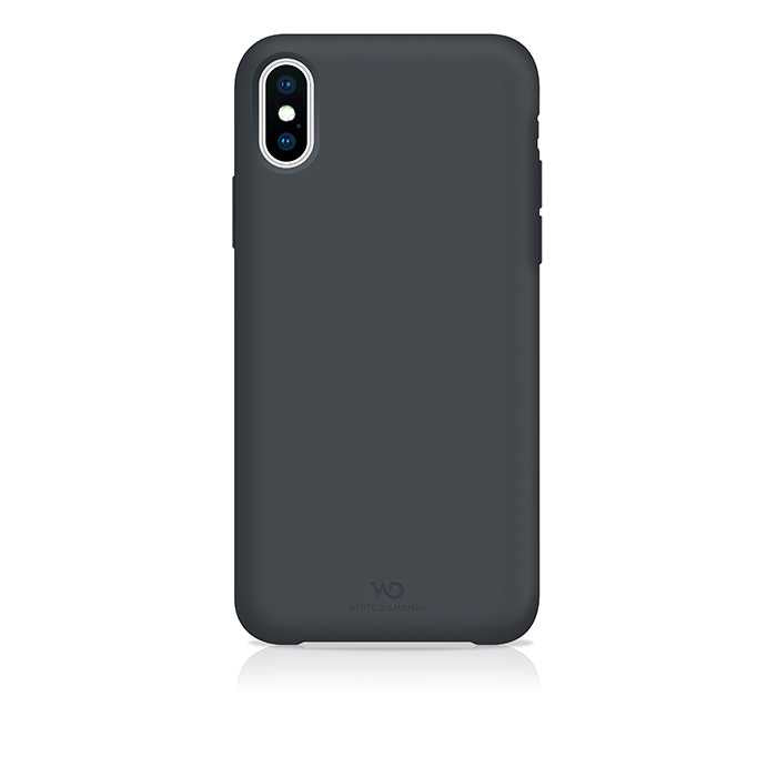 White Diamonds Fitness Back Case for iPhone  - Dark Gray