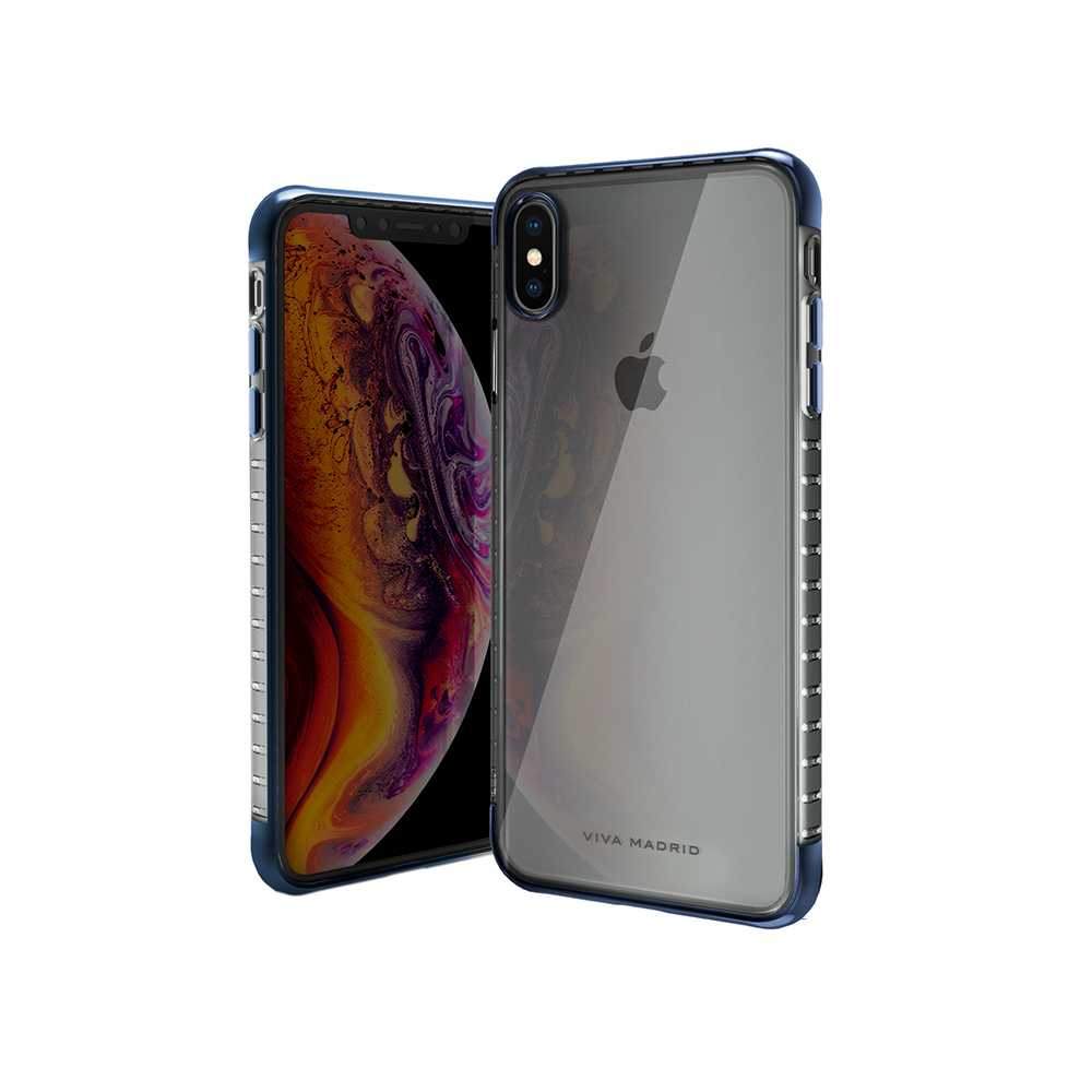Viva Madrid Vanguard Duo Back Case for iPhone Xs Max - Blue