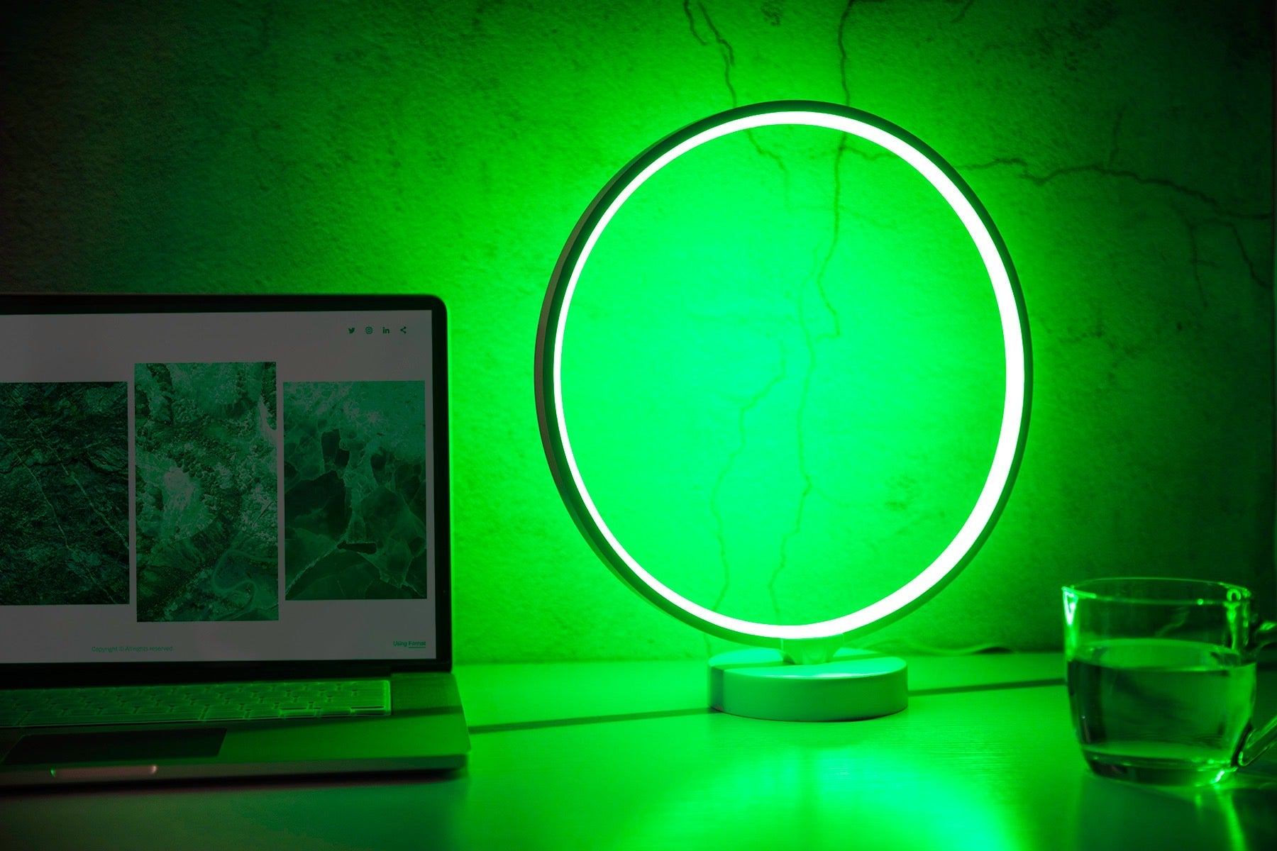 Hypnotek Desk Lamp Aura Mood Light RGB