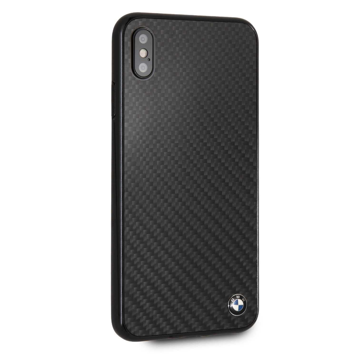 BMW Real Carbon Fiber TPU Hybrid Case for iPhone Xs Max