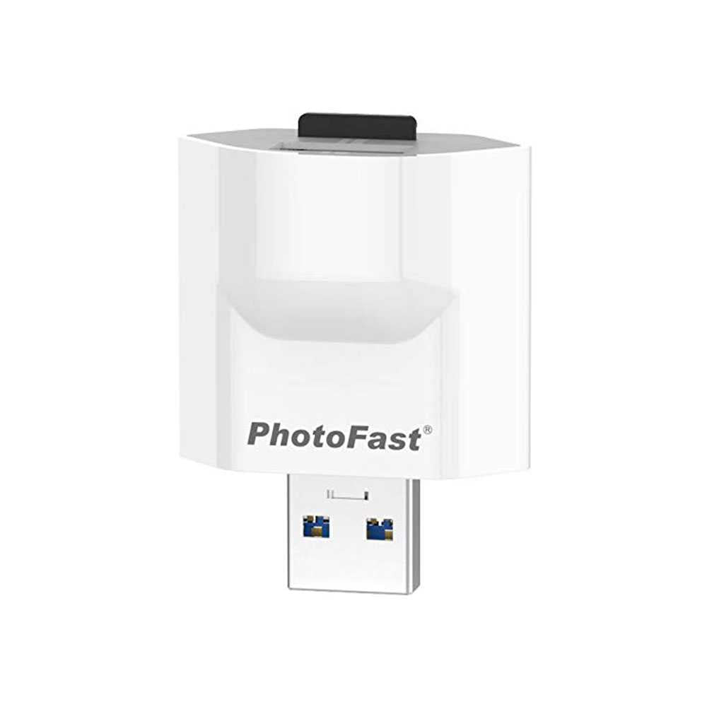 PhotoFast iFlash Drive PhotoCube EU - White