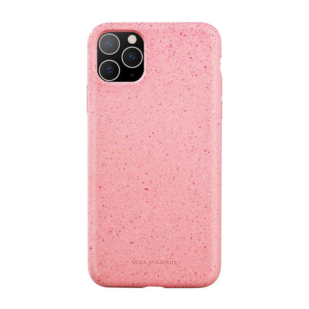 Viva Madrid Grano case + Liquid Silicon Micro-fiber on the inner case - 360° full protection - Smooth &comfortable grip For New iPhone (2019) - Pink