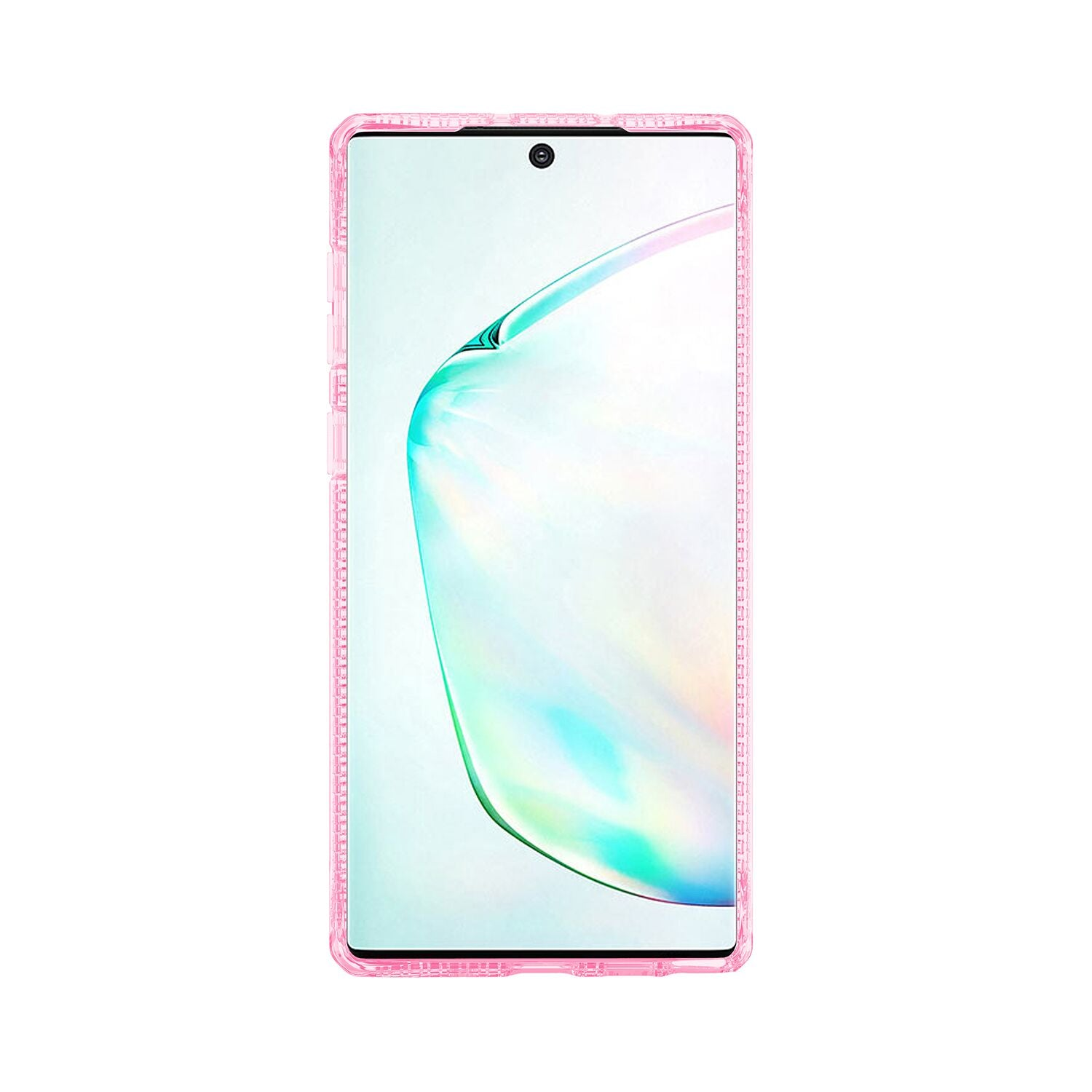 ITSKINS HYBRID CLEAR FOR SAMSUNG NOTE 10 & NOTE 10+ LIGHT PINK & TRANSPARENT