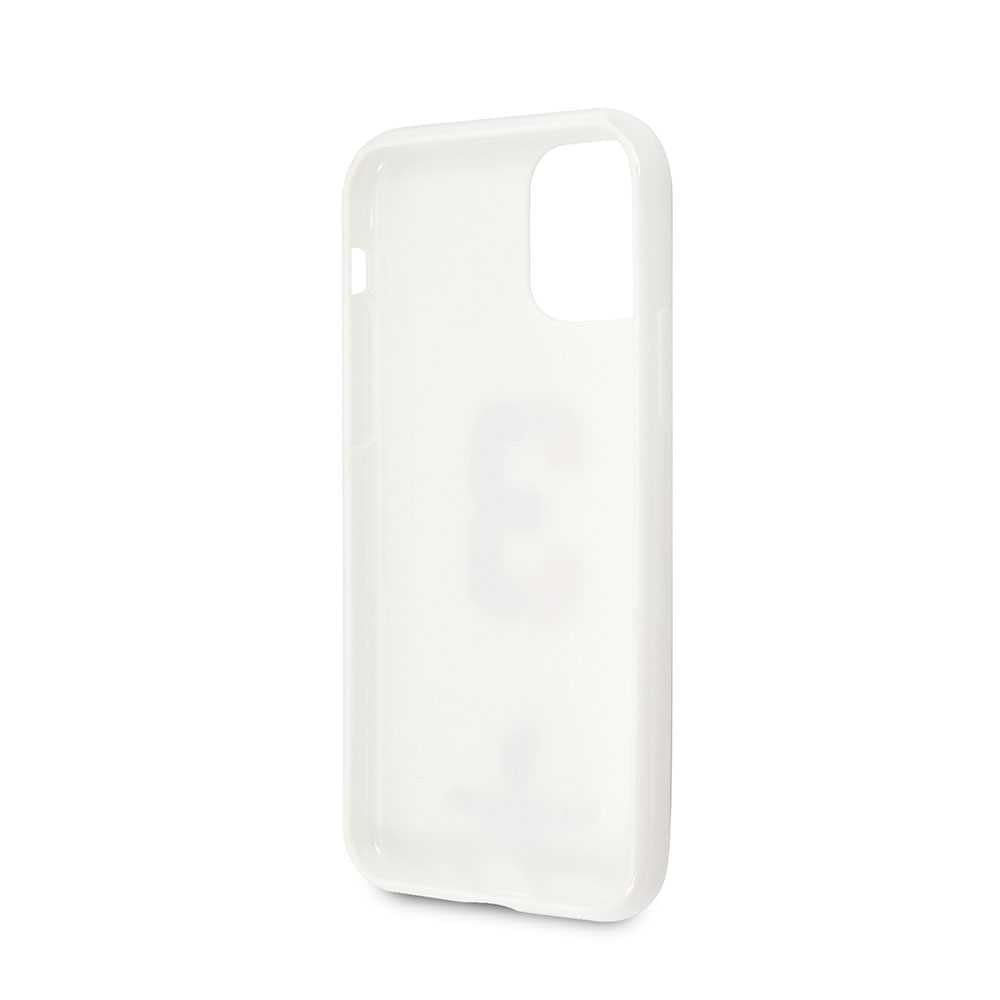 U.S.Polo Assn.PC/TPU Case No.3 Bicolor with Logo Print for iPhone 11 Pro - White