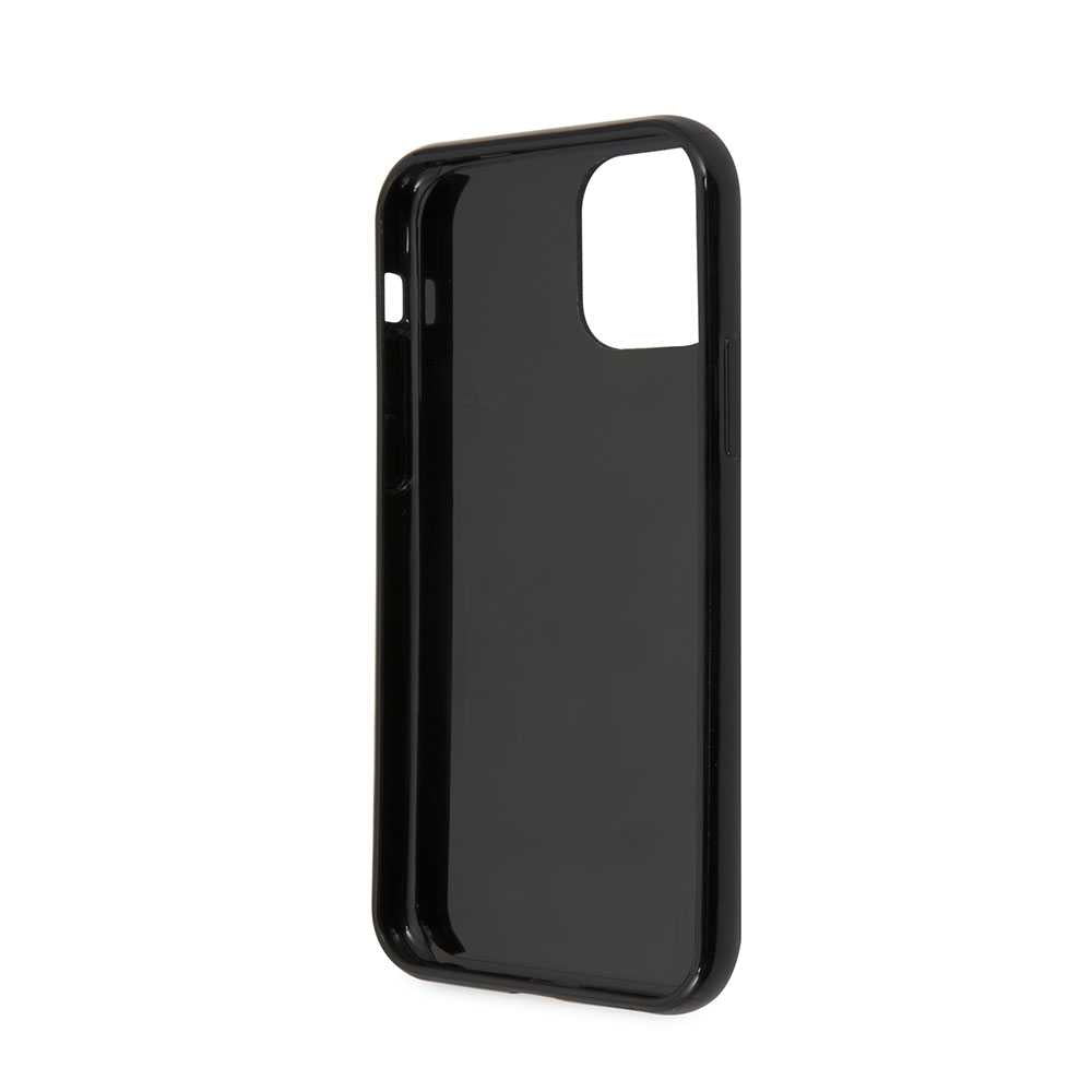U.S.Polo Assn.PC/TPU Case No.4 Bicolor with Logo Print for iPhone 11 Pro - Black