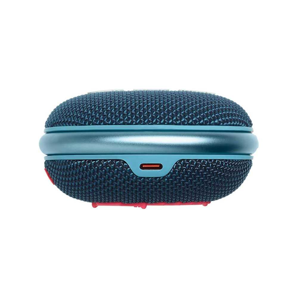 JBL Clip 4 Portable Wireless Speaker - Blue/Pink