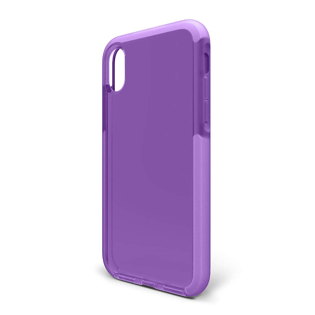 BodyGuardz - Ace Pro Case for iPhone Xs/iPhone X, (Purpple/White)
