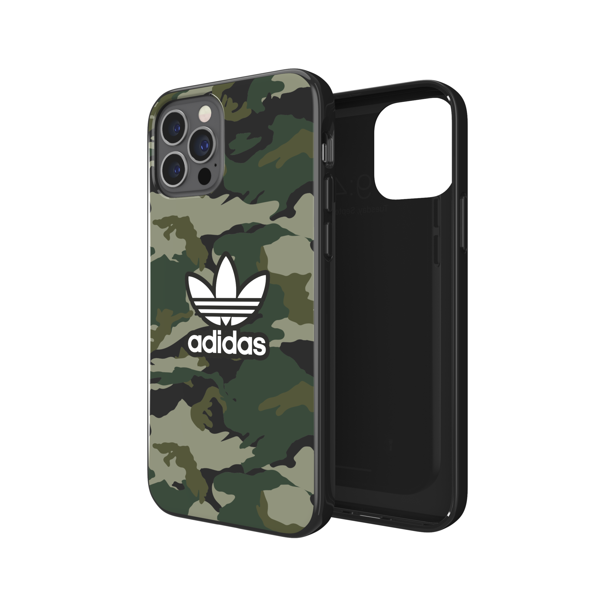 ADIDAS iPhone 12/12 Pro - Snap Graphic Case - Black/Night Cargo