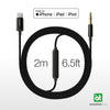 AT Supreme Link Lightning to AUX 3.5mm Cable