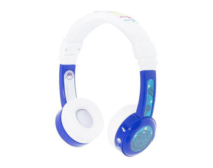 BUDDYPHONES INFLIGHT ON-EAR WIRED HEADPHONES