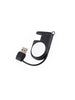 Uniq Cove Magntic Chrgr App Wtch Built in USB Cable-BLK