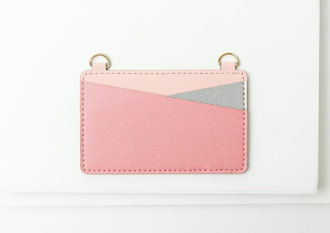 Moxyo Crossbody Wallet - Pink