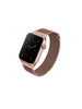 Uniq Dante Apple Watch Series 4 Mesh Steel Strap 44mm – Rose(Rose Gold)
