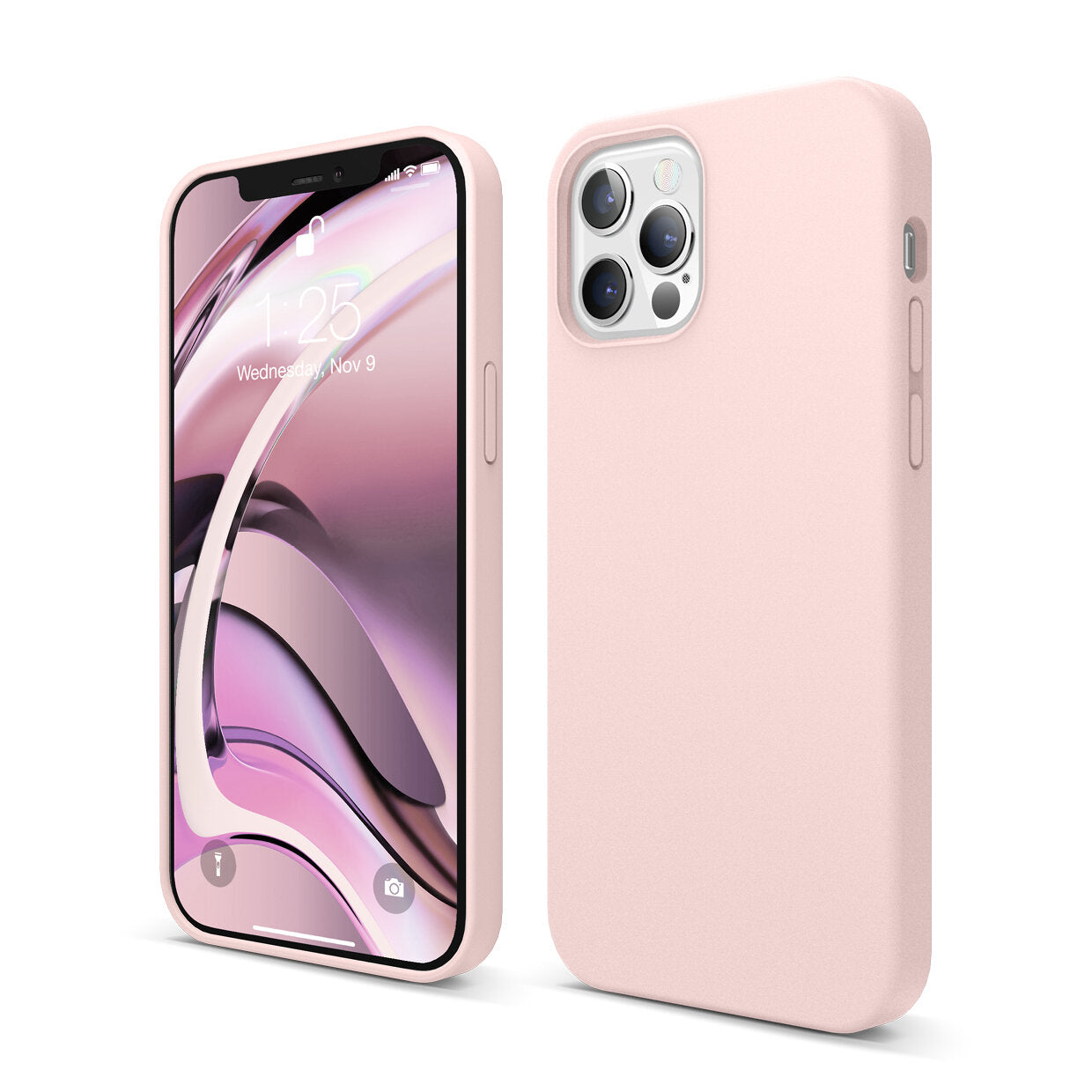Mons Liquid Silicone Case For IPhone ( 2020 ) - Lovely Pink