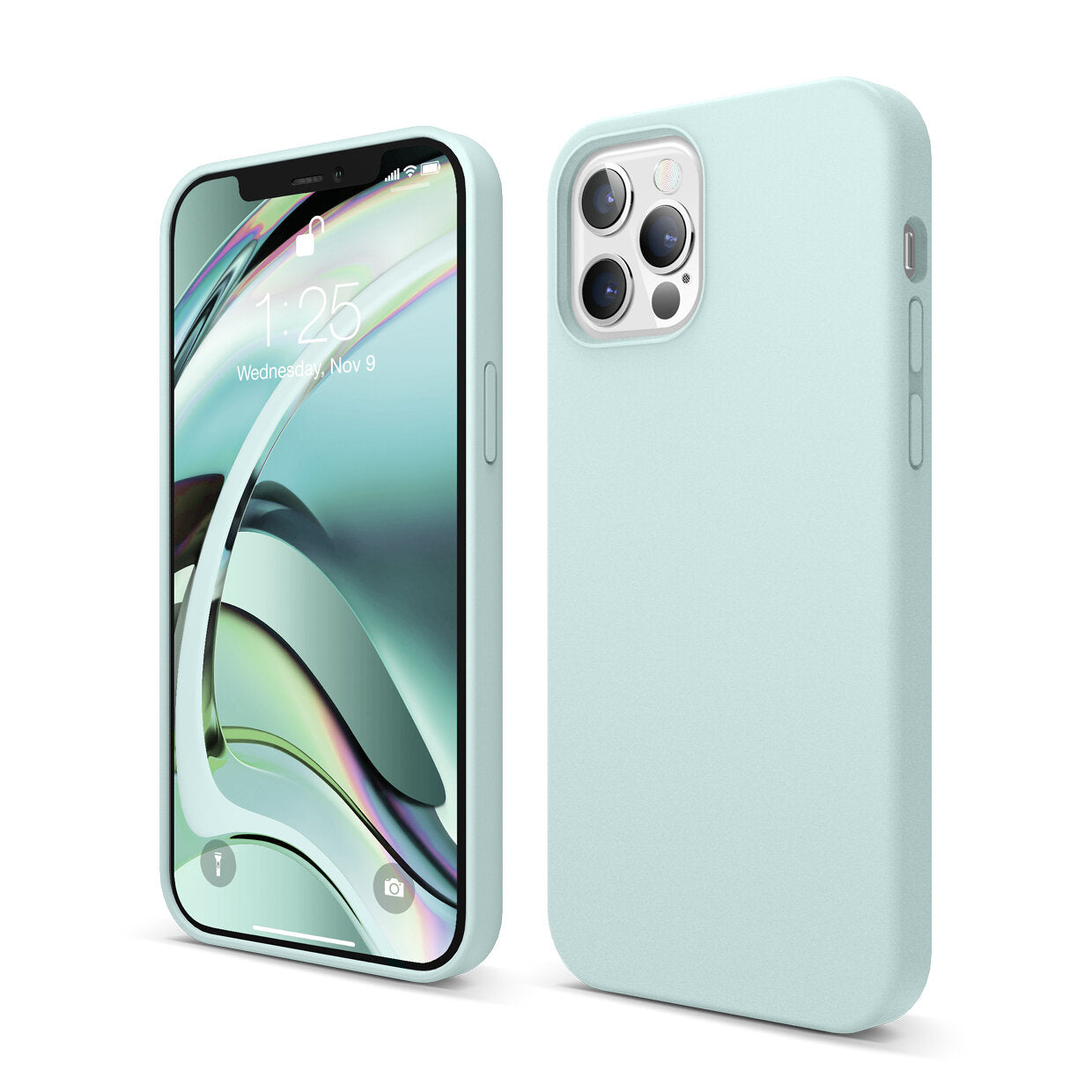 Mons Liquid Silicone Case For IPhone ( 2020 ) - Baby Mint