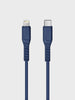 Uniq Flex USB C to Lightning Strain Relief Cable 1.2m