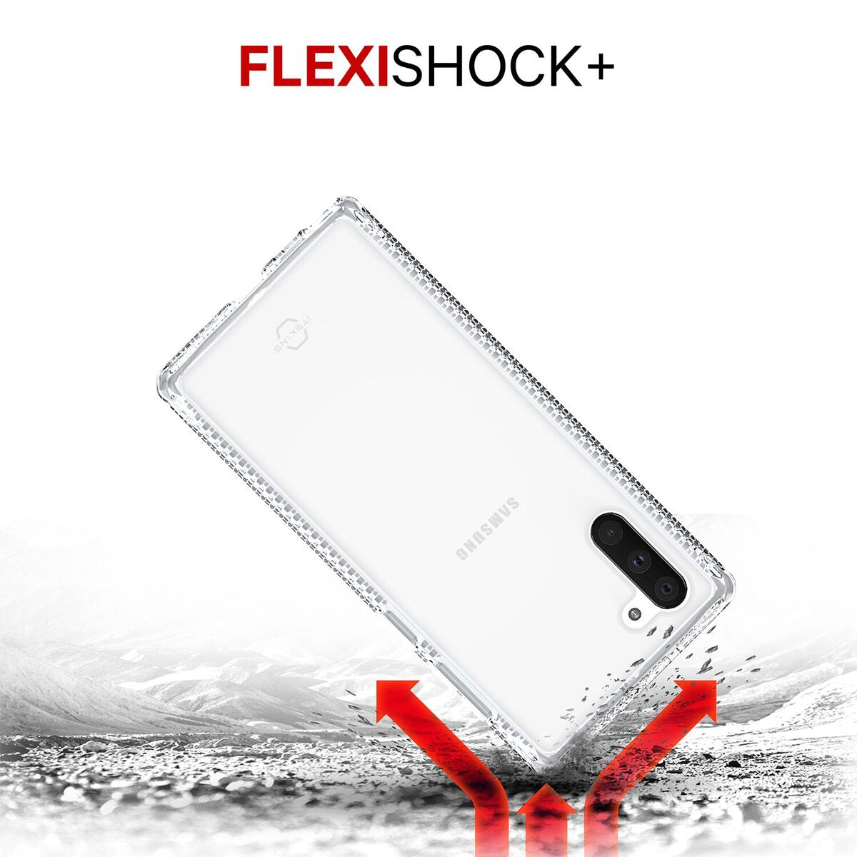 ITSKINS HYBRID CLEAR FOR SAMSUNG NOTE 10 & NOTE 10+ TRANSPARENT