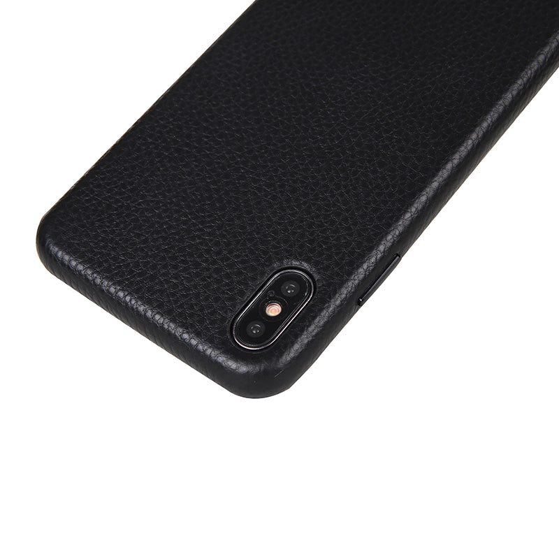 PUKKA Genuine Leather Case Black for iPhone Xs / Xs Max