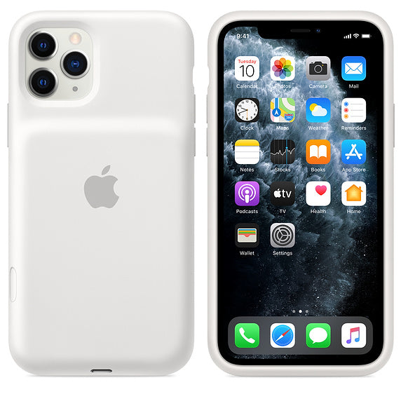 Apple iPhone 11 Pro / 11 Pro Max Smart Battery Case - White