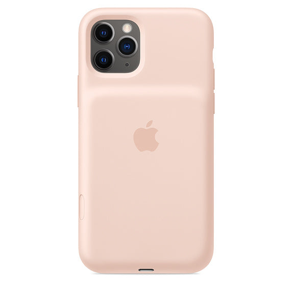 Apple iPhone 11Pro  Smart Battery Case - Pink Sand