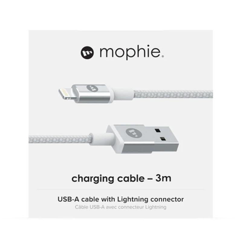 Mophie Charge and Sync Cable USB-A to Lightning - White