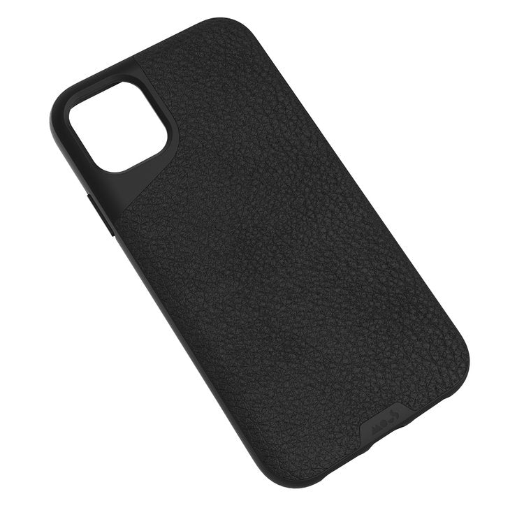 MOUS Contour Series for iPhone  (Black Leather)