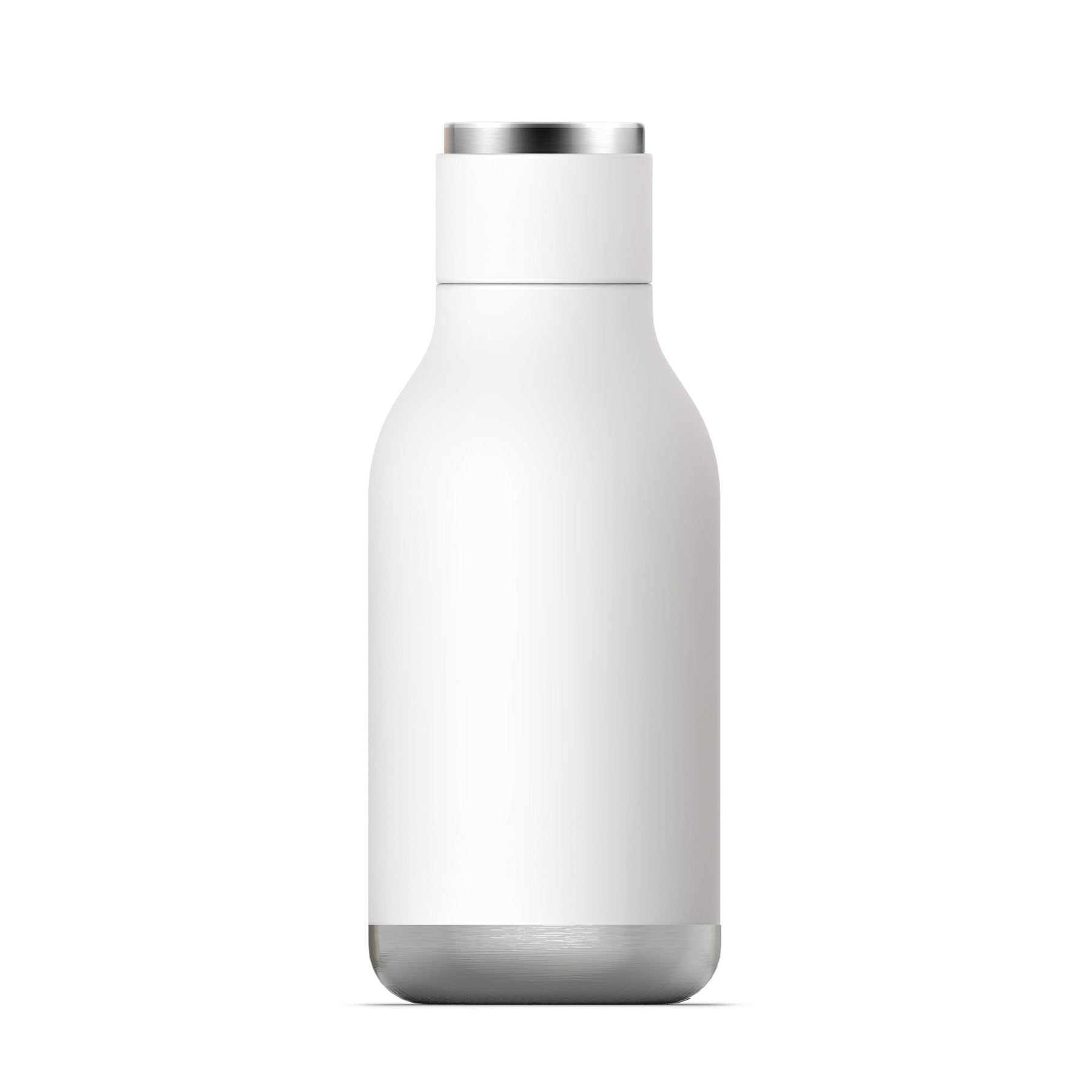 ASOBU Urban Insulated and Double Walled 16 Ounce 24hrs Cool Stainless Steel Bottle - White
