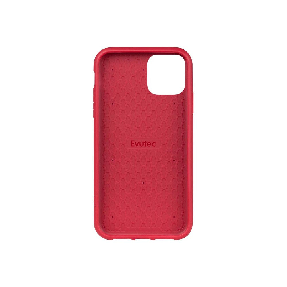 Evutec AERGO - Ballistic Nylon with AFIX Car Mount for iPhone (2019) - Red