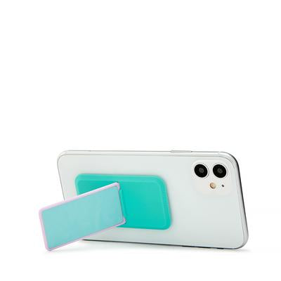 Handl Glow in the Dark Phone Grip - Blue/Turquoise