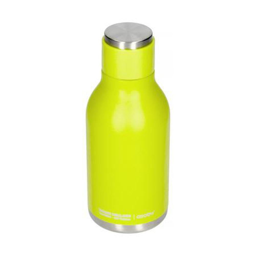 ASOBU Urban Insulated and Double Walled 16 Ounce 24hrs Cool Stainless Steel Bottle - Lime