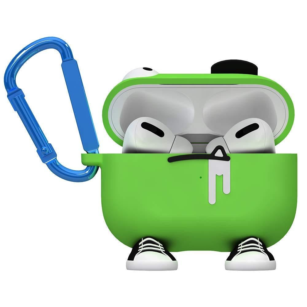 CASE-MATE CreaturePods AirPods Pro Case - Chuck The Cool Guy - Green