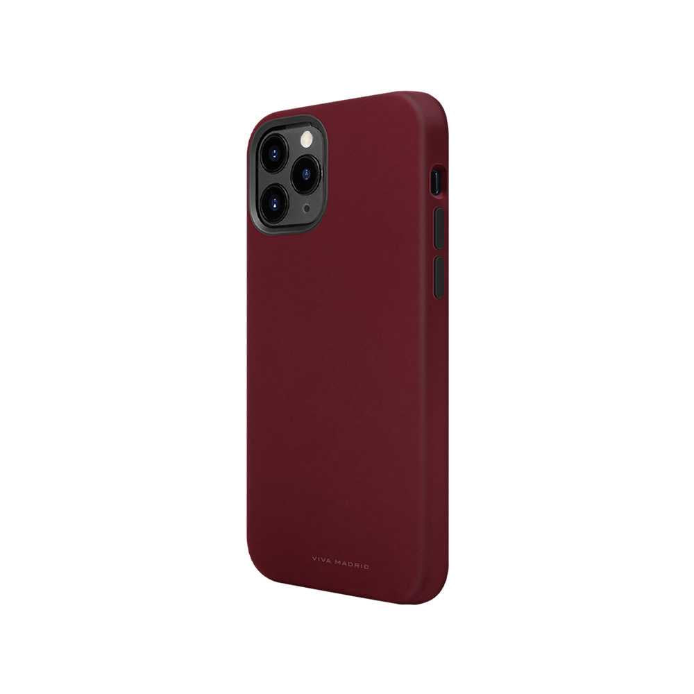 Viva Madrid Ferro Back Case for iPhone (2020) - Maroon
