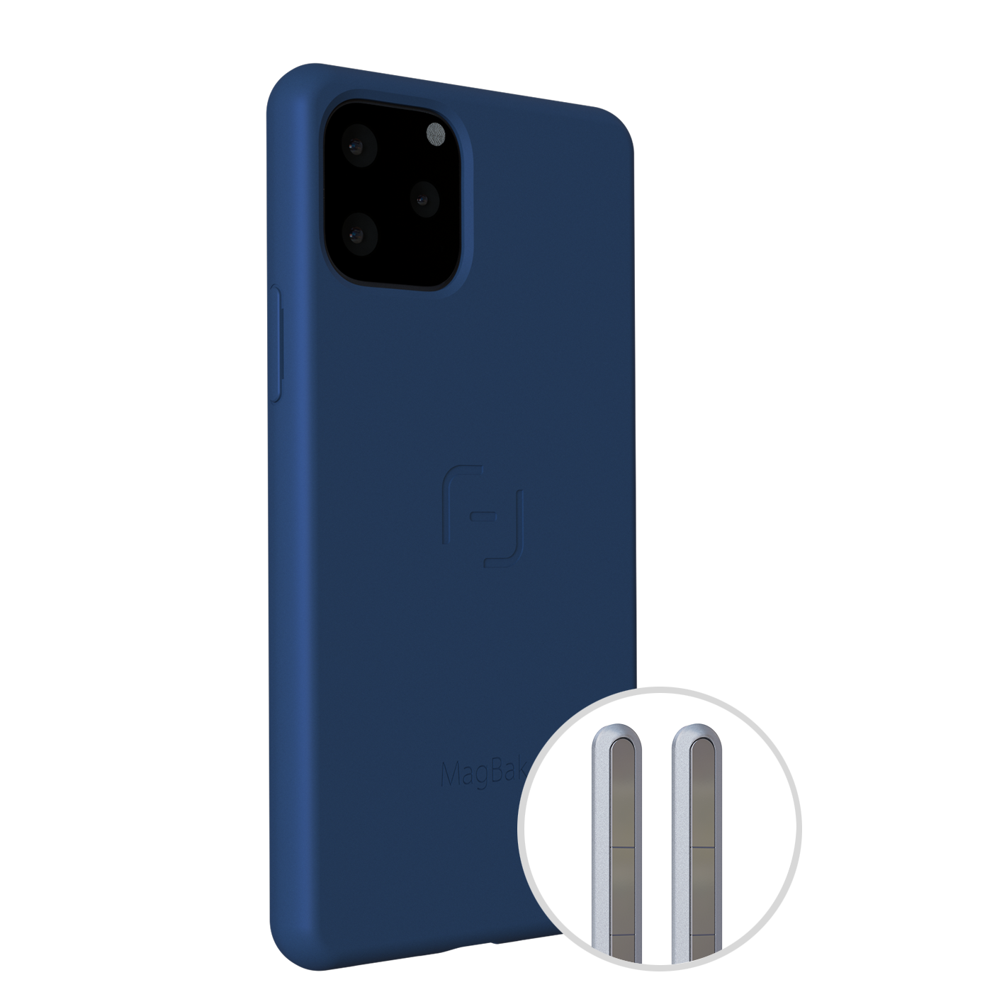 MagBak for iPhone 2019 (Blue)