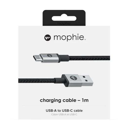 mophie Charge and Sync Cable USB-A to USB-C 1M