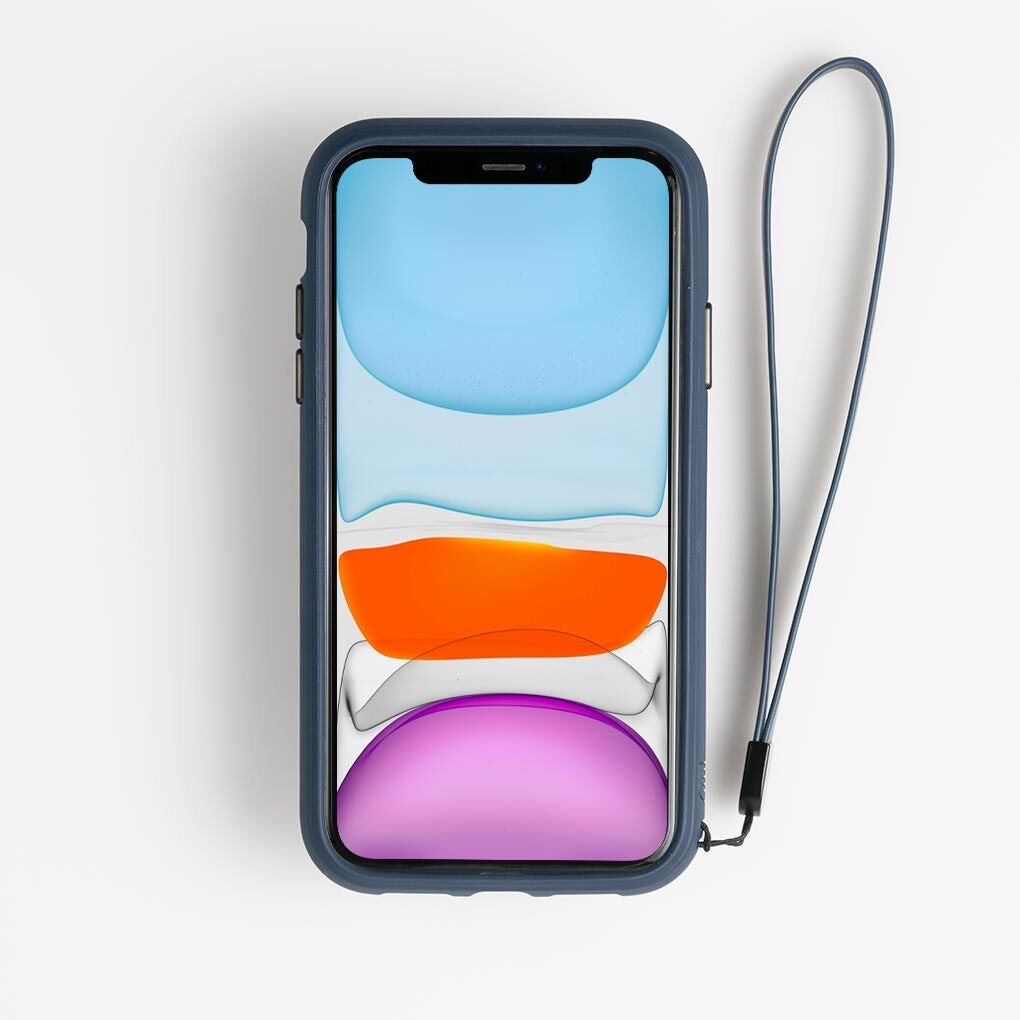 Bodyguardz Accent Wallet Case Secure for Iphone (2019), Navy