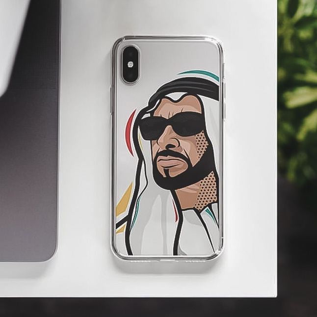 I love zayed case For IPHONE