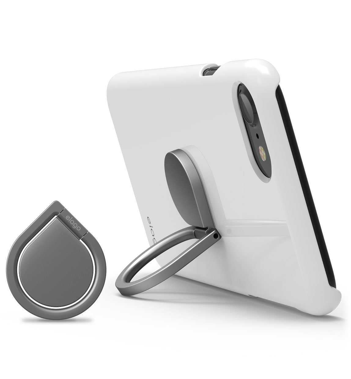 Elago Ring Holder Stand - Dark Gray