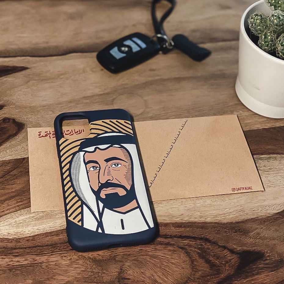 Sultan Alqloob Case For IPhone (2019) - ( Blue ) Exclusive at Alabqary