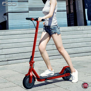 "Fiat - E-Scooter - F500 - 10"" - Red (LG 36V7.8AH - Battery) - Red"
