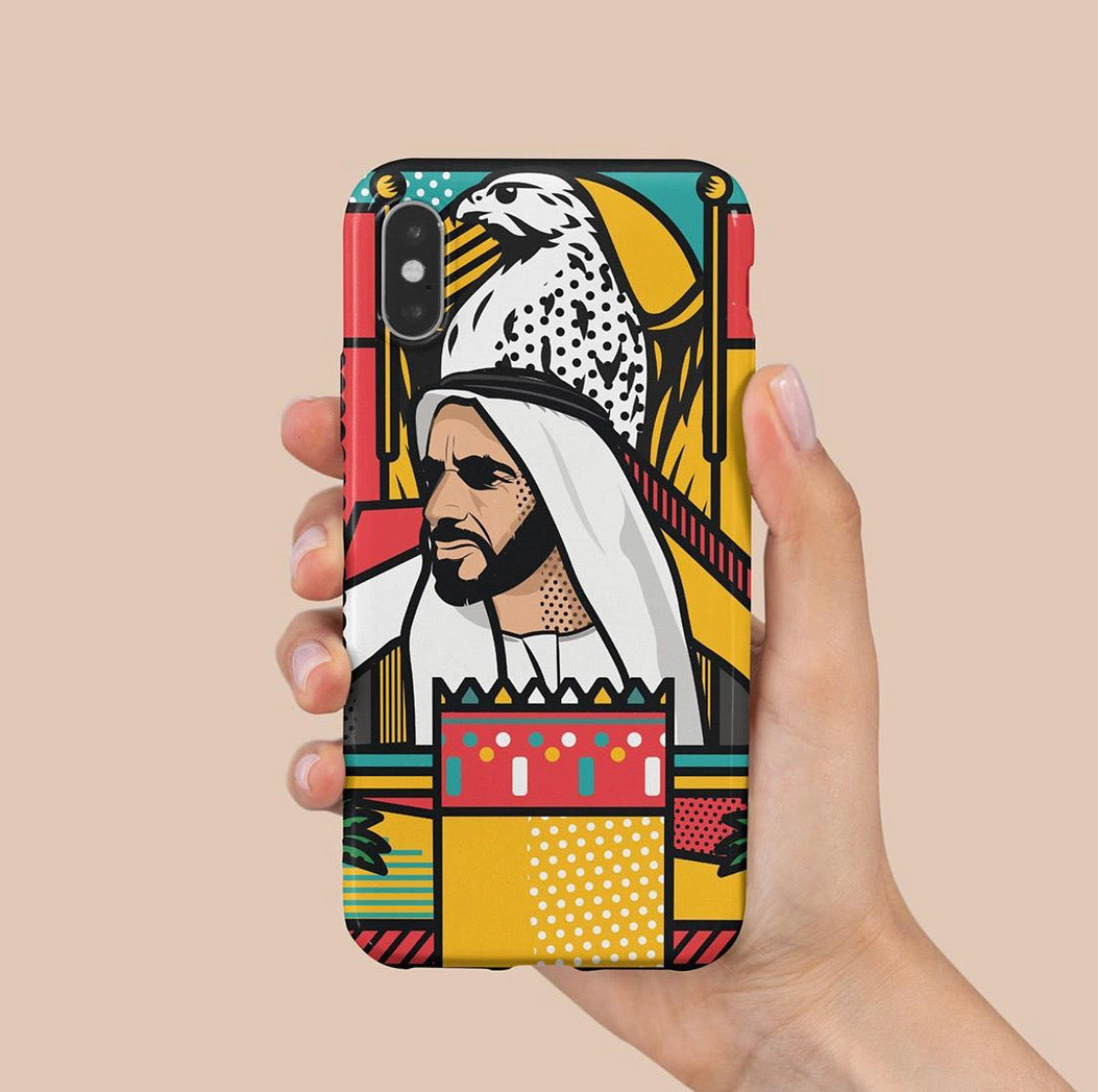 I love zayed case IPhone X/Xs & Xs Max