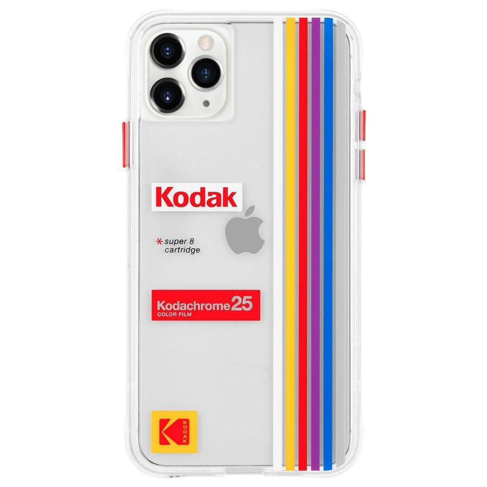 CASE-MATE Kodak Case for iPhone ( 2019 ) - Striped Kodachrome Super 8