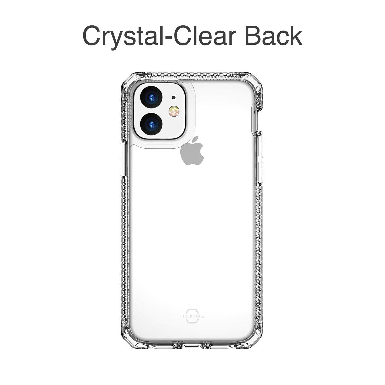 ITSKINS Hybrid Clear for iPhone  (Transparent)
