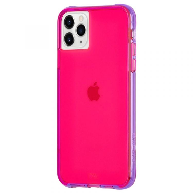 Case-Mate iPhone(2019)- Tough NEON - Pink / Purple