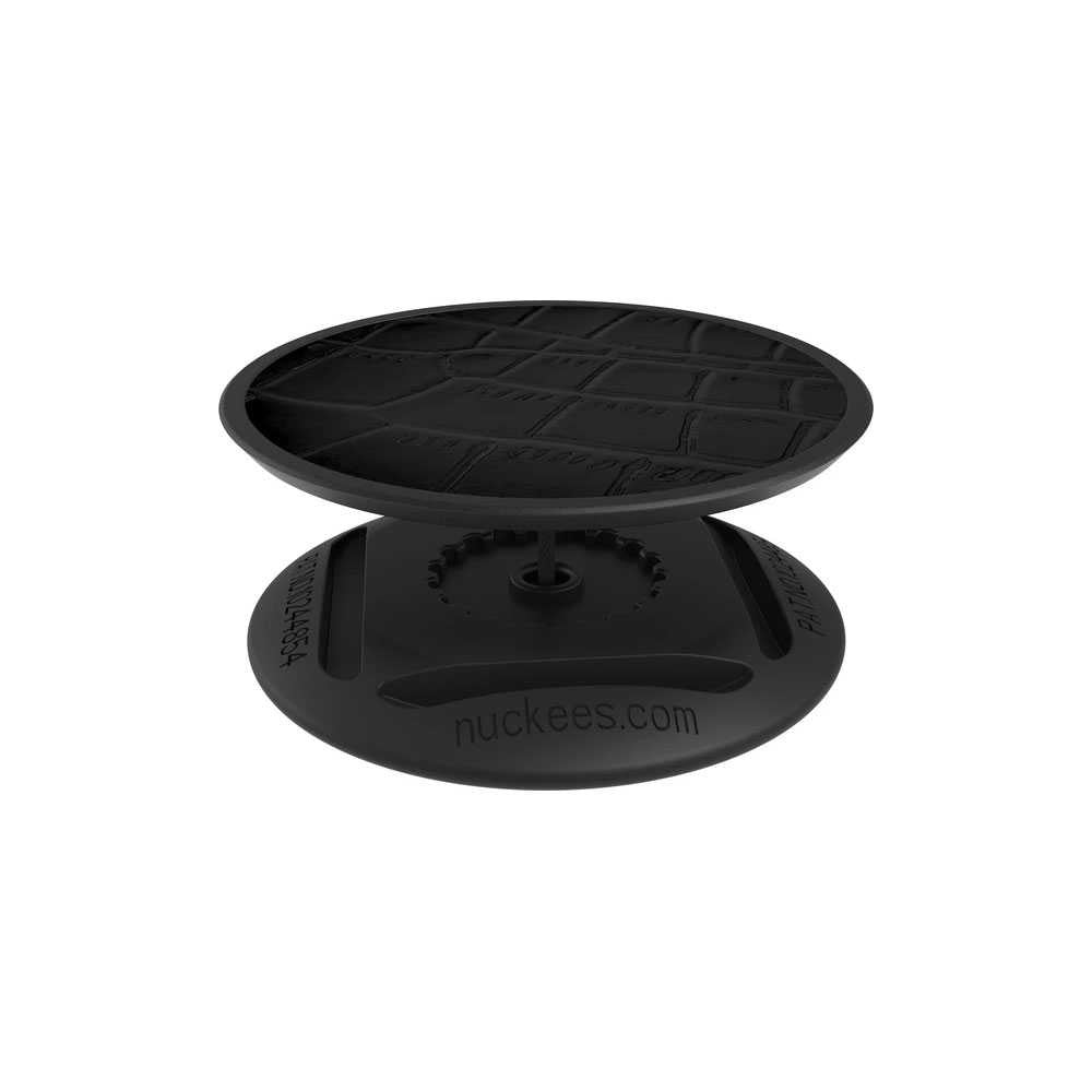 Nuckees Stand and Grip - Vegan Croc Black