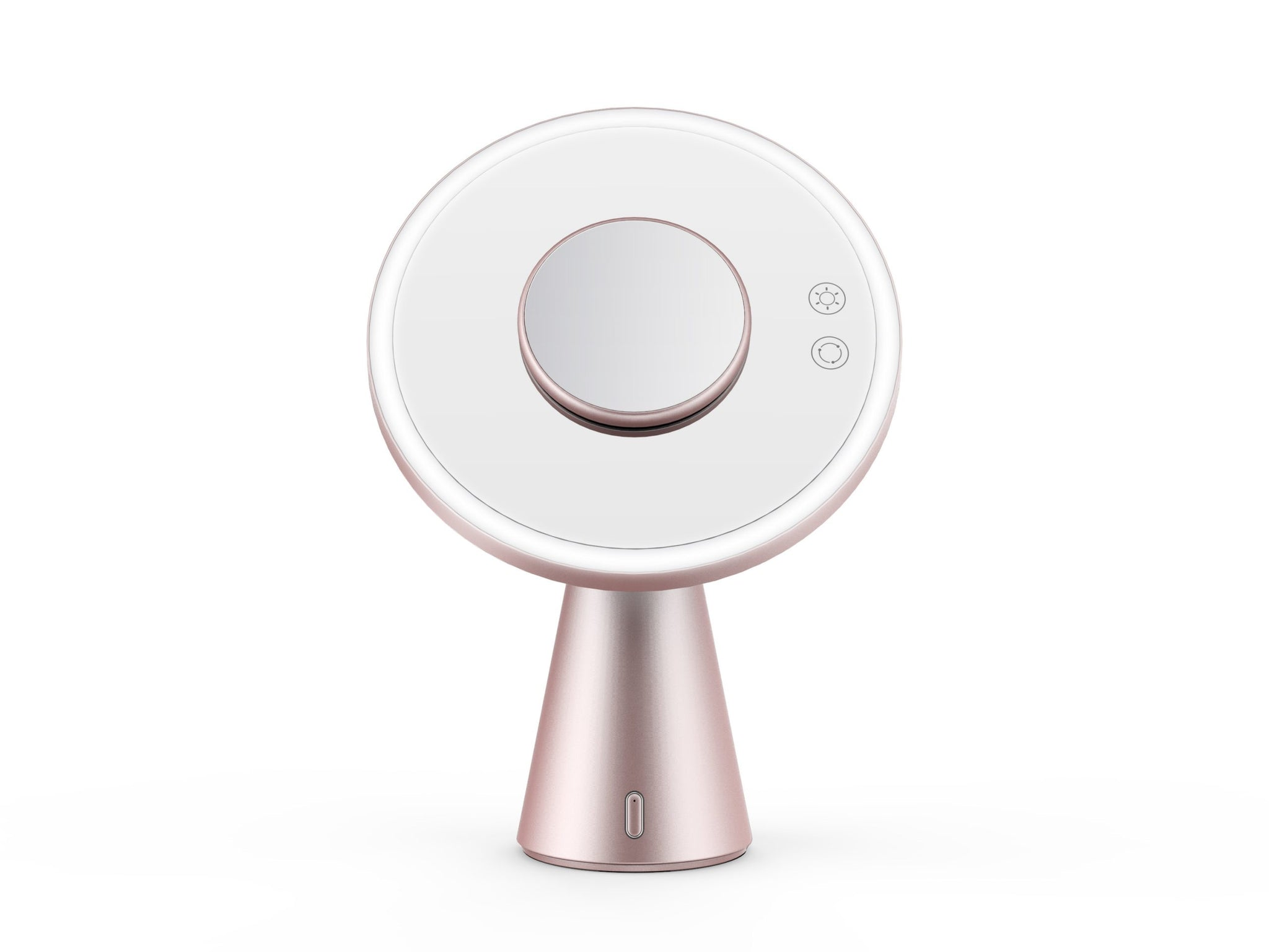 Hypnotek Lighted Makeup Mirror with bluetooth Speaker MOON MIRROR