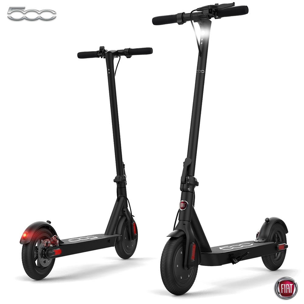 "Fiat - E-Scooter - F500 - 10"" - Black (LG 36V7.8AH - Battery) - Black"