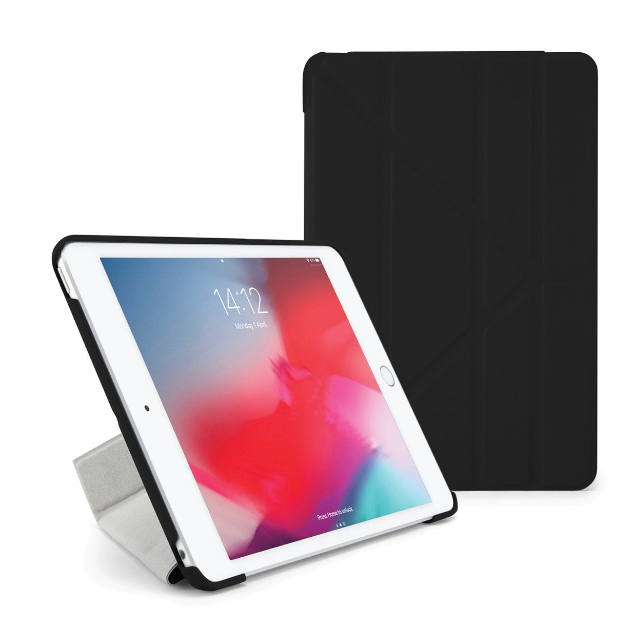 Pipetto IPad Mini 5 Origami Black 2019