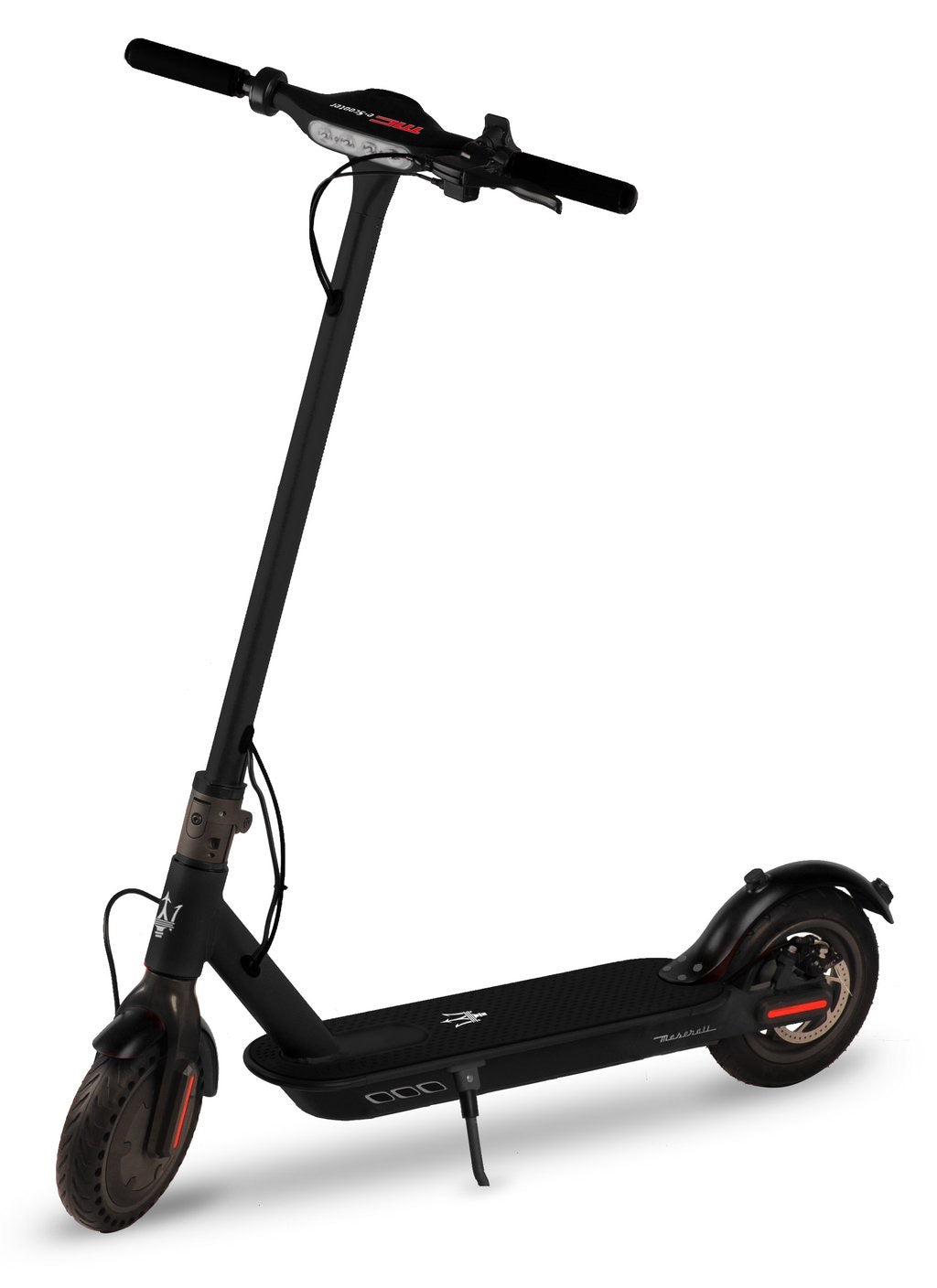 "Maserati - E-Scooter - 8.5"" - Gray (LG 36V7.8AH - Battery) - Black"